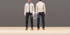 LEVI's VINTAGE CLOTHING 501XX 1966 Model MADE IN USA 501XX 1966 model rigid (raw)