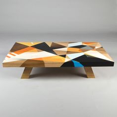 Each table is custom painted by Vans the Omega, essentially turning an everyday item into a functional piece of art.