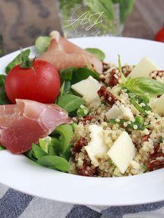 Salade de quinoa à l'italienne - Petit Bec Gourmand