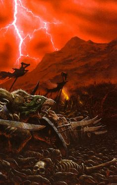 The Great Migration of the Skaven race.