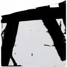 Pierre Soulages, Goudron sur verre, 1948, Paris, collection de l'artiste (c) Adagp, Paris 2008