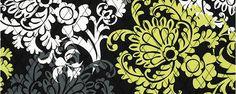 "Vera Bradleys ""Baroque"" print."