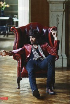 Sergio Pizzorno of Kasabian Dan Auerbach, Jack White, Keith Richards, Jim Morrison, Arctic Monkeys, Bruce Springsteen, Gig Outfit, Don Mclean, Rock And Roll Fashion