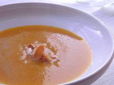 Dýňový krémová polévka  http://www.veseleboruvky.cz/2012/06/dynova-kremova-polevka.html