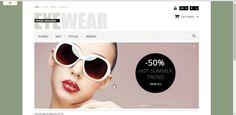 Responsive Eyewear Store PrestaShop Theme 1.5