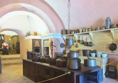 I can just imagine Bruno preparing meals for Santo Marino in a kitchen like this at San Michele. www.marianneperry.ca