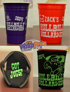 BB Graphics 2014 Halloween Cups and Coolies | 3M Certified Vehicle Wraps | Ocala Florida