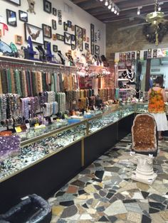 French Quarter Gem & Lapidary - New Orleans, LA, United States. If you're into lapidary, this is the place to come in the city!