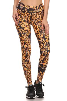 Attack of the Monarchs Dream Leggings from POPRAGEOUS