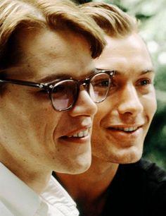 "Jude Law and Matt Damon, in ""The Talented Mr. Ripley"" 1999."