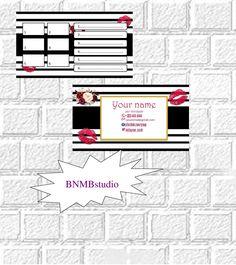 LipSense Tester Cards Lip sense business card Lipsense distributor Tester sheet Lipsense cards Lipsense prints Lipsense loyalty Senegence by BNMBstudio on Etsy