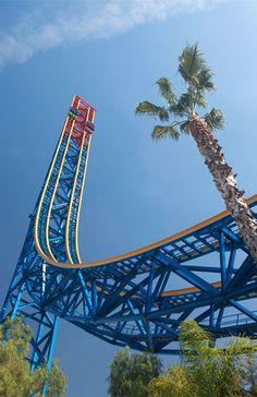 Superman: Escape from Krypton, Six Flags Magic Mountain, Valencia, Calif. (Courtesy of Six Flags Magic Mountain, Valencia, CA)