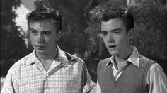 ~ Tommy Kirk & Tim Considine ~ (The Shaggy Dog Tim Considine, Disney Live Action Films, Under A Spell, Treasure Island, Celebs, Celebrities, Shaggy, Movies Showing, Movie Tv
