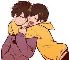 Read 💜💛IchiJyushi Time💛💜 from the story Magenesmatsu [¡Imágenes, videos, comics y mucho mas! Anime Siblings, Anime Child, Anime Couples, Hot Anime Boy, All Anime, Anime Art, Manhwa, Cool Anime Pictures, Osomatsu San Doujinshi