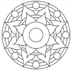 Mandala Coloring Page Blank