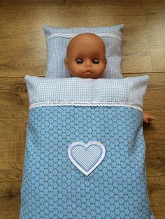 Puppenbettwäsche von * Creative Happiness * auf DaWanda.com