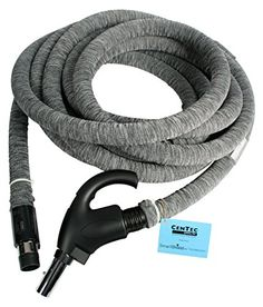 The #90177 electric hose is an individually packed 35 Ft. electric hose with direct connect wall end and chrome locking stub #tube. The hose features a soft grip...