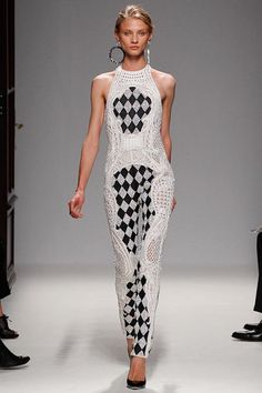 Balmain Spring/Summer 2013 Collection Fashion Show