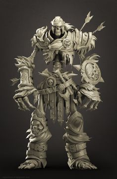 Fan Art- Skeleton soldier(Darksiders-II)
