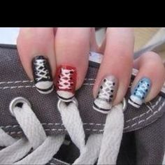 Cute for a teen girl, I probably wouldn't wear them this way, but my daughter would.