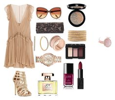 """""""night oit"""" by p-frost ❤ liked on Polyvore featuring Chloé, Steve Madden, Giorgio Armani, Diane Von Furstenberg, River Island, Chan Luu, Michael Kors, Oasis, FOSSIL and NARS Cosmetics"""