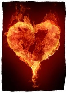 """fire heart - I can see folks using this image for weddings to go with that quote that """"love is is friendship set on fire"""" Photo Background Images, Photo Backgrounds, Coeur Gif, Corazones Gif, Cure For Heartburn, The Heart Is Deceitful, Animated Heart, Animated Gif, Flame Art"""