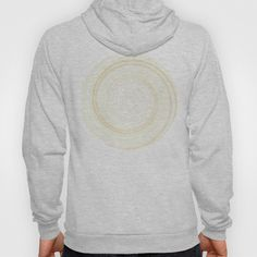 Re-Created Spin Painting No. 1 Hoody by Robert Lee - $38.00 #art #spin #painting #drawing #design #circle