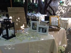 Rustic theme for our British couple that married in Trastevere. www.weddingsinrome.com