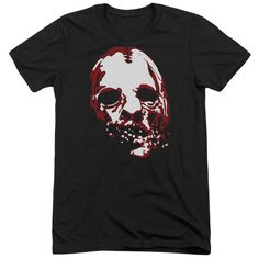 """Checkout our #LicensedGear products FREE SHIPPING + 10% OFF Coupon Code """"Official"""" American Horror Story / Bloody Face - Adult Tri-blend Short Sleeve - American Horror Story / Bloody Face - Adult Tri-blend Short Sleeve - Price: $44.99. Buy now at https://officiallylicensedgear.com/american-horror-story-bloody-face-adult-tri-blend-short-sleeve"""