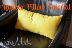 vixenMade: Lumbar Pillow Tutorial