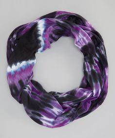 Look what I found on #zulily! Witchy Tie-Dye Heart Infinity Scarf #zulilyfinds