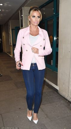 MvP: She's admitted to never having voted before. But Katie Price decided to immerse herself in politics as she headed to the final EU referendum debate held at Troxy in East London on Wednesday