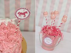 pink Carousel Birthday Party..