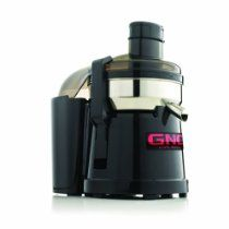 GNC Centrifugal Pulp Ejection Juicer, 1/3 Horse Power, Black