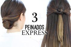 """PEINADOS FÁCILES Y RÁPIDOS """"EXPRESS"""""""