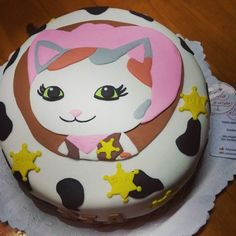 Sheriff Callie www.instagram.com/lolacorazon.tortas