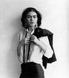 Frida Kahlo as a Dapper woman    Dapper AF: Crushing on Dapper Women by Tamsen Parker