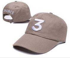 Chance The Rapper 3 Dad Hat Baseball Cap Adjustable Letter Embroidery Hip Hop Hat