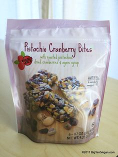 Pistachio Cranberry Bites #traderjoes