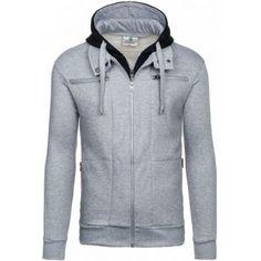 Pánske mikiny (športovo-elegantná) Hooded Jacket, Athletic, Jackets, Fashion, Jacket With Hoodie, Down Jackets, Moda, Athlete, Fashion Styles