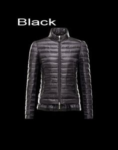 Moncler Aminta Women Full Zip Lightweight Down Jacket Black Outlet Sale