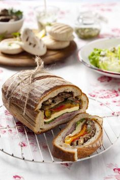 Stuffed Picnic Loaves Are the Food Hack You Need This Summer | Brit + Co