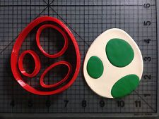 Super Mario - Yoshi Egg Cookie Cutter Set