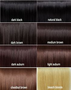 Brown Hair Color Swatches - Best Color Hair for Hazel Eyes Check more at http://frenzyhairstudio.com/brown-hair-color-swatches/