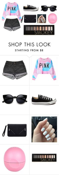 """Cute"" by sydneybushh on Polyvore featuring PèPè, Chicnova Fashion, Converse, River Island, Forever 21, women's clothing, women, female, woman and misses"