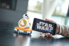 Star Wars Sphero BB-8 Droid #Sphero #bb-8 #SpheroBB-8 #starwars #regalos #2015 #trends #original #regalos #originales #geek http://miguelo.com/