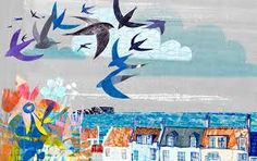 Image by Jill Calder, Pittenweem, Fife Poster Competition, Bird Illustration, Mark Making, Illustrators, Book Art, Art Projects, How To Draw Hands, Artsy, Drawings