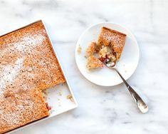 Plum Spelt Cake