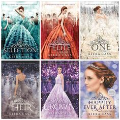 Book reviews of Kiera Cass's entire young adult series, The Selection.