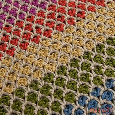The Moroccan Stitch - Free Crochet Pattern For The Moroccan Market Tote
